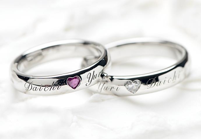 指輪 刻印