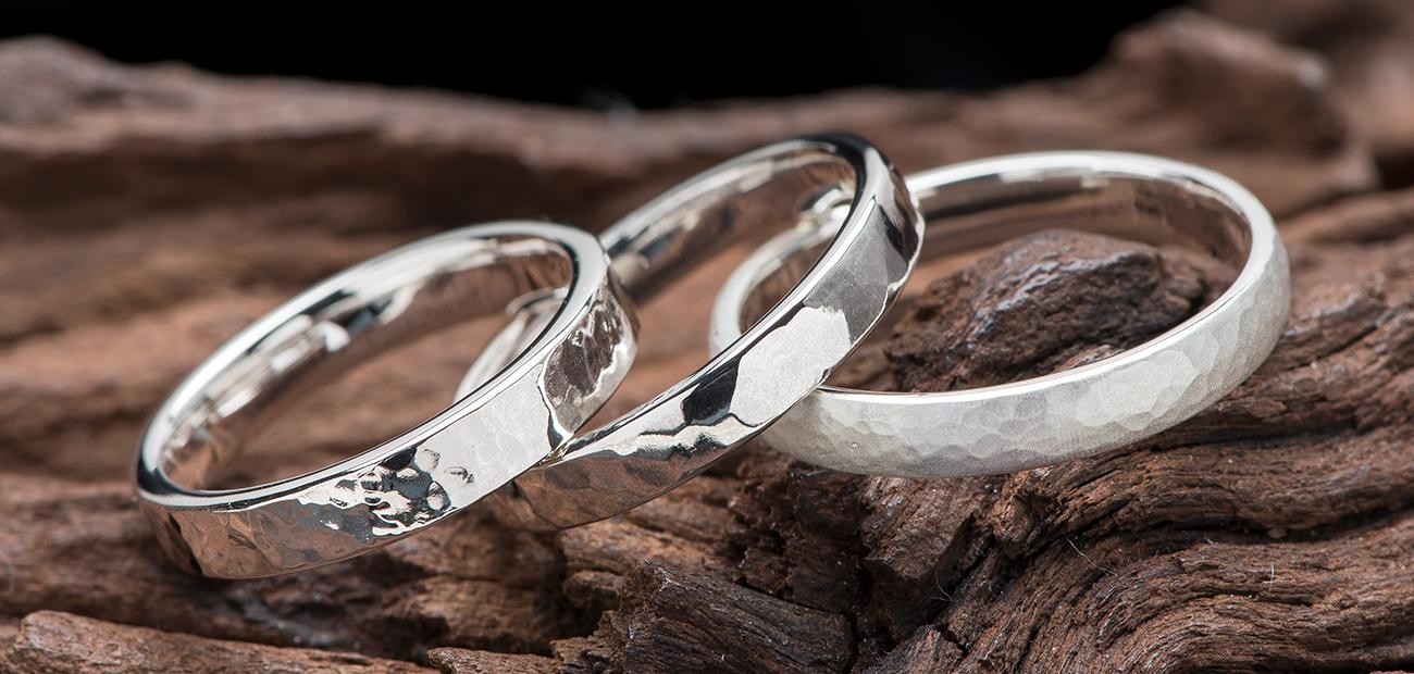 鍛造でオリジナル結婚指輪・ペアリング