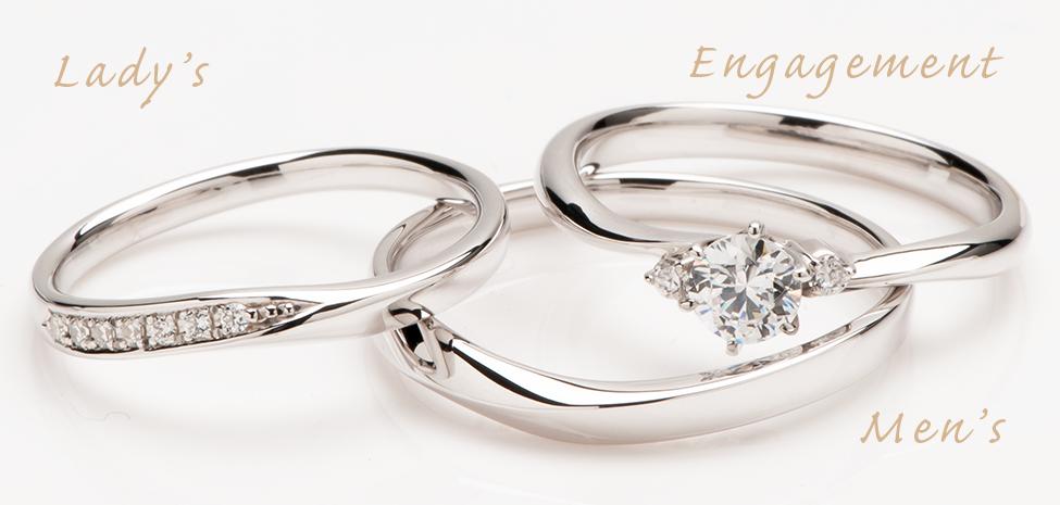 ダイヤ0.2ct〜婚約クラスが留まるエンゲージリング