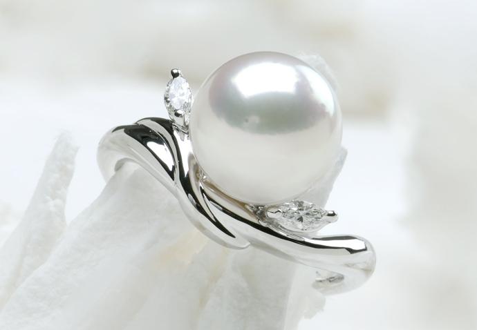 パールの指輪