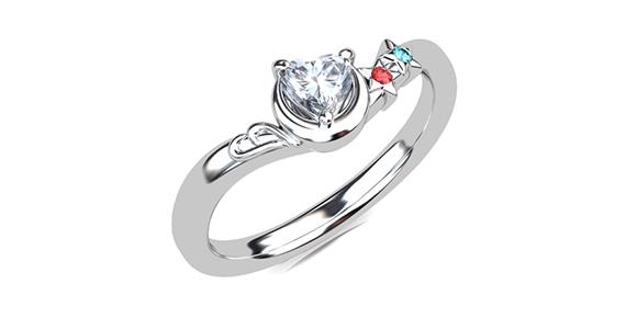 婚約指輪 デザイン イメージ CG