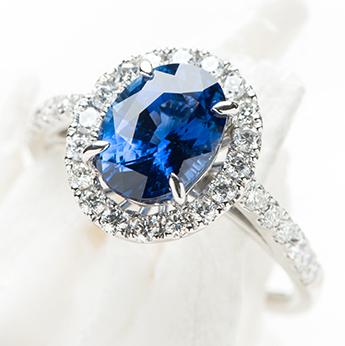 プラチナ×ブルーサファイヤ