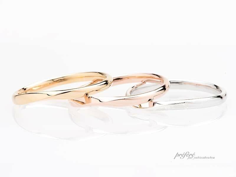 【人気ランキング】セミオーダー結婚指輪