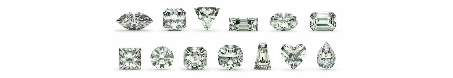 ダイヤモンドの形と種類