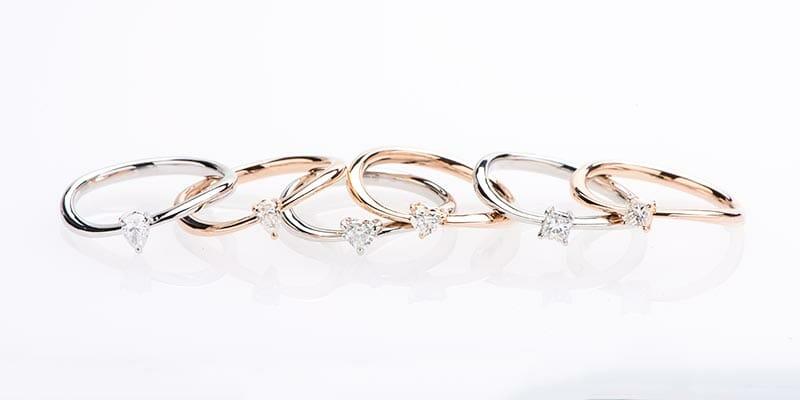 価格の安い婚約指輪